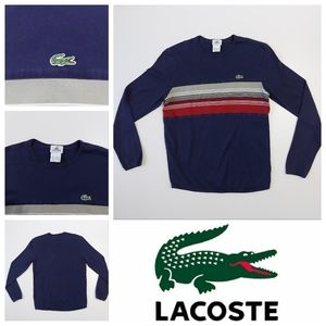 Lacoste Long Sleeve Shirt Men's Small Size 3